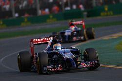 Жан-Эрик Вернь. ГП Австралии, Воскресная гонка.