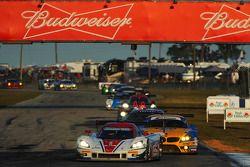 #5 Action Express Racing 雪佛兰克尔维特 DP 雪佛兰: 若·巴博萨, 克里斯蒂安·费迪帕尔迪, 塞巴斯蒂安·波尔戴斯
