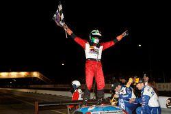 Overall winner Marino Franchitti