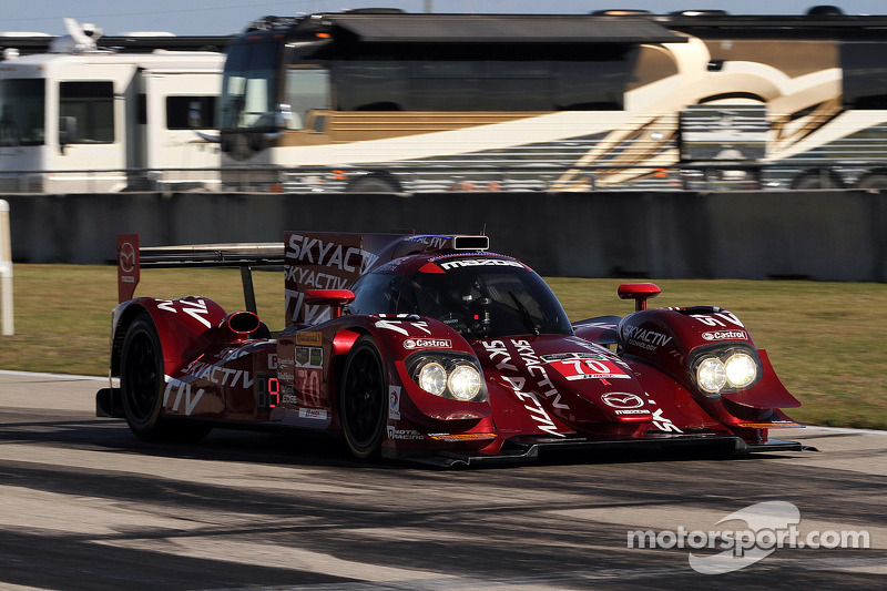#70 SpeedSource Mazda Mazda: Sylvain Tremblay, Tom Long, Ben Devlin