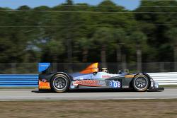 #08 RSR Racing ORECA FLM09: Chris Cumming, Alex Tagliani, Rusty Mitchell
