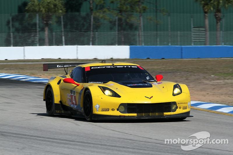 #4 Corvette Racing Chevrolet Corvette C7.R: Oliver Gavin, Tom Milner, Robin Liddell