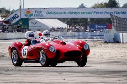 HoF Charity Laps: Ferrari 250 Testa Rossa pilotée par Derek Bell