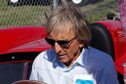 Derek Bell with the Ferrari 250 Testa Rossa