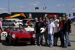HoF Charity Laps: Ferrari 250 Testa Rossa