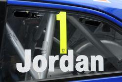 Andrew Jordan, numéro 1
