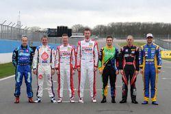 7 campeões no grid do BTCC 2014