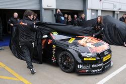 De onthulling van Rob Austin Exocet Racing Audi A4
