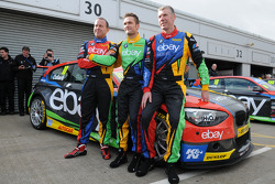 eBay Motors : Rob Collard, Colin Turkington et Nick Foster
