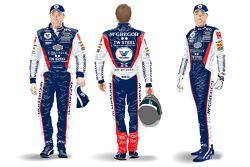 ROAL Motorsport and Tom Coronel firesuit