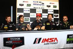 Commissione dei direttori Motorsport Safety Foundation: Jim Norman, Eduardo Cisneros, Henrique Cisne