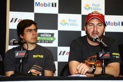 Eduardo Cisneros et Henrique Cisneros - Conférence de presse Motorsport Safety Foundation