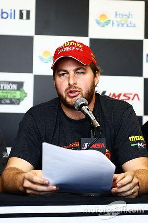 Henrique Cisneros alla conferenza stampa Motorsport Safety Foundation
