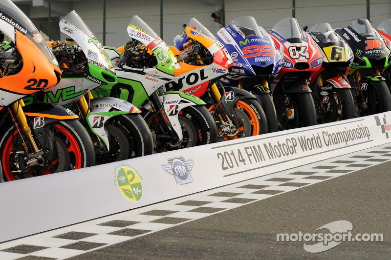 2014 bikes foto di gruppo