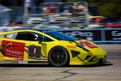#1 3R Racing Lamborghini Gallardo LP570-4 Super Trofeo: David Calvert-Jones en Blair Chang