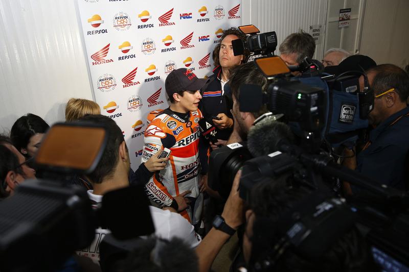 Ganador de la pole Marc Márquez