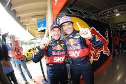 Pole position Caca Bueno et Juan Manuel Silva