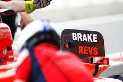 The Brake board for Rene Binder