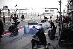 Такуя Изава. Мартовские тесты в Бахрейне, пятница.