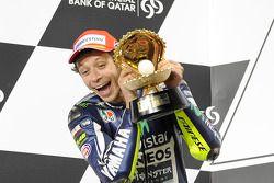 Secondo posto per Valentino Rossi, Yamaha Factory Racing