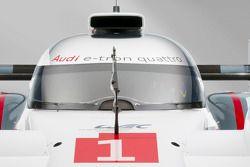 Разминка Audi в Ле-Мане, студийная фотосессия.