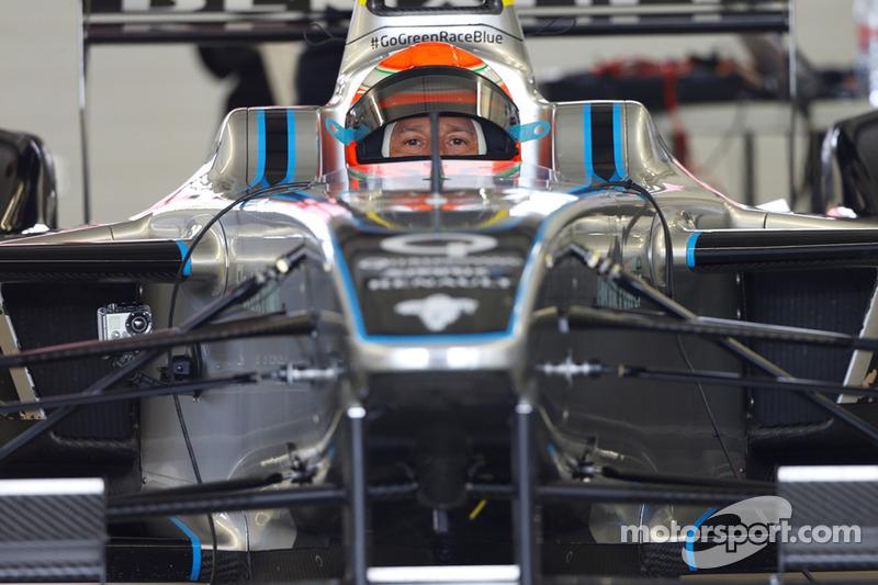 Jarno Trulli teste la Spark-Renault SRT-01E