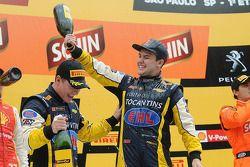 Winners Felipe Fraga and Rodrigo Sperafico, Vogel Motorsport Chevrolet