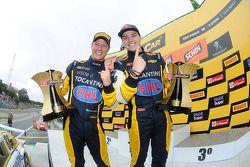 Kazanan Felipe Fraga ve Rodrigo Sperafico, Vogel Motorsport Chevrolet