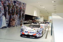 Le Mans-tentoonstelling in het Porsche Museum in Stuttgart