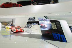 Le Mans au Musée Porsche de Stuttgart
