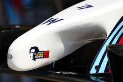 威廉姆斯FW36赛车—鼻骨,致敬阿亚顿·塞纳
