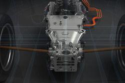 Toyota TS040 Hibrit - hibrit sistemi