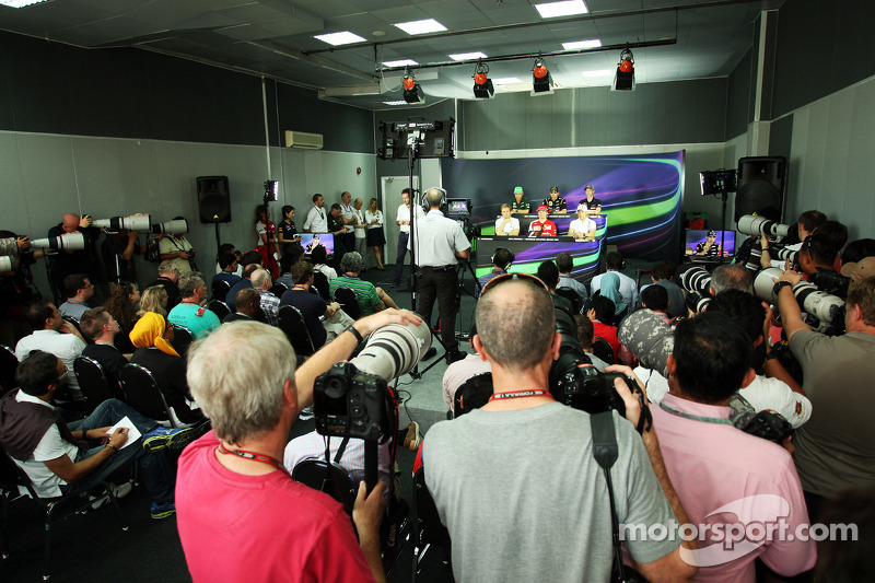 La conferenza stampa della FIA