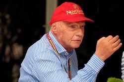 Niki Lauda, Mercedes, Aufsichtsratsvorsitzender
