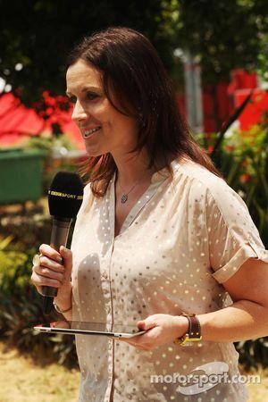 Lee McKenzie, reportero de TV de la BBC