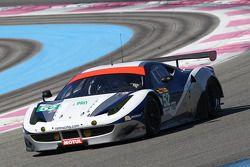 #52 AF Corse, Ferrari F458 Italia: Matt Griffin, Alvaro Parente, James Rossiter