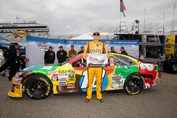 Pole position Kyle Busch, Joe Gibbs Racing Toyota