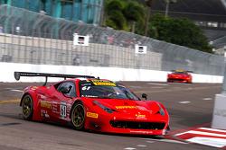 #61 R. Ferri Motorsports Ferrari 458 GT3 Italia: Anthony Lazzaro