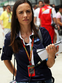María Serrat, presentadora de Telefónica TV