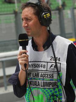 Tom Clarkson, Journalist und BBC TV Reporter