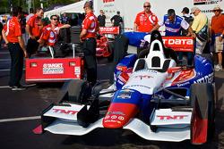 Car of Ryan Briscoe, Chip Ganassi Racing Chevrolet