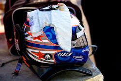 Helmet of Scott Dixon