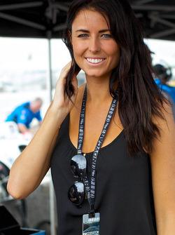 James Hinchcliffe's girlfriend Kirsten Dee