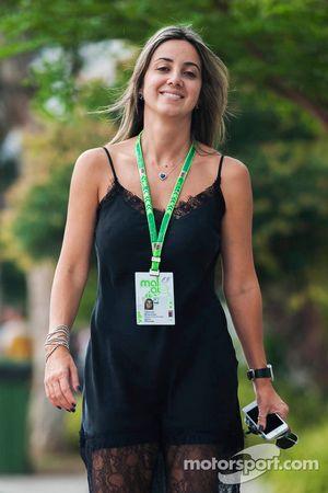 Raffaela Bassi, Ehefrau von Felipe Massa