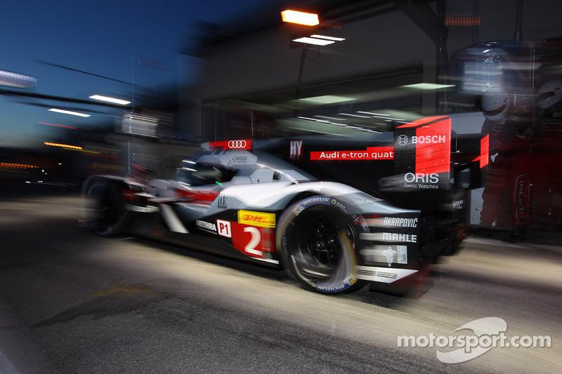 #2 Audi Sport Joest Audi R18 e-tron quattro: Marcel Fässler, Benoit Tréluyer, Andre Lotterer