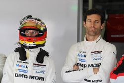 Timo Bernhard ve Mark Webber