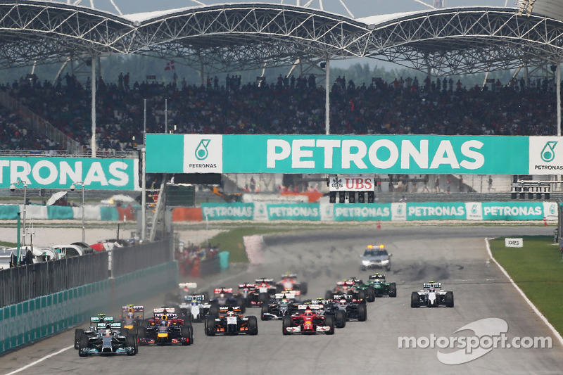10- GP de Malasia 2014: 27 años, 1 mes y 1 día