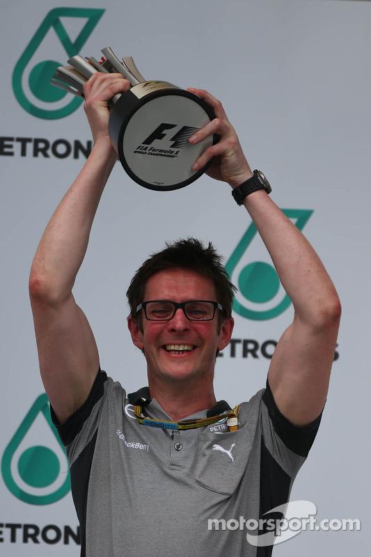 Andrew Shovlin, engenheiro da Mercedes AMG F1