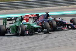 Marcus Ericsson (SWE), Caterham F1 Team e Jean-Eric Vergne (FRA), Scuderia Toro Rosso 30