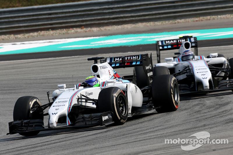 GP da Malásia, 2014: Massa não abre para Valtteri Bottas